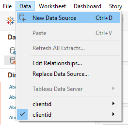 Connect Redshift and Tableau - worksheet